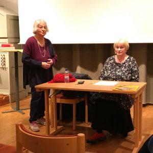 Sonja Wahlström och Soili-Maria Olli