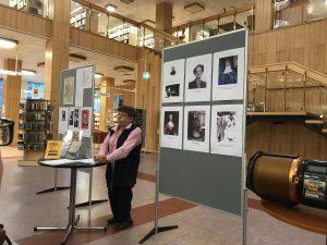 Bilder på några kvinnor som gett namn åt gator i Falun